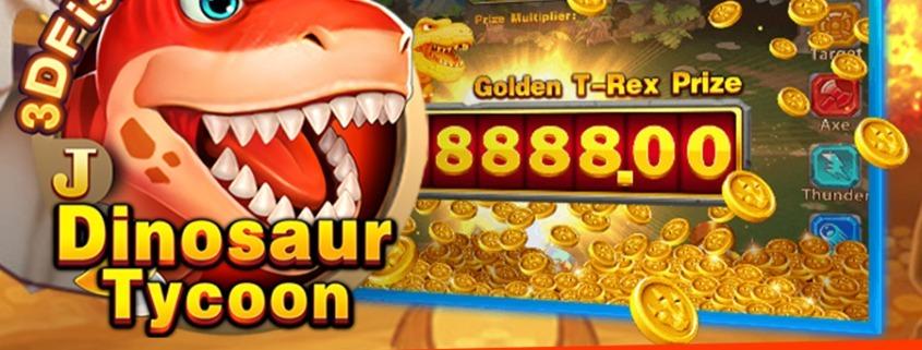 เกมยิงปลารูปแบบใหม่ล่าสุด Dinosaur Tycoon จากค่าย Jili